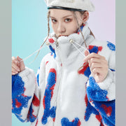 Abstract Crayons Fleece Jacket - OH 2X Asia's Trending Streetwear OH2X