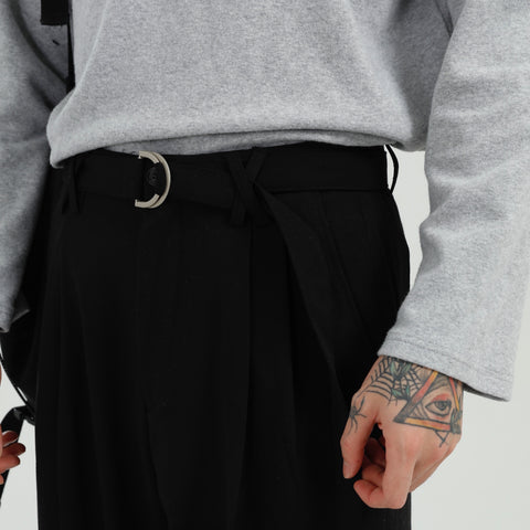 OH Essential Ring Belt Trousers - OH 2X Asia's Trending Streetwear OH2X