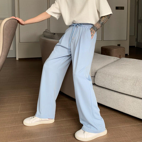 OH Essential Draw String Baggy Pants - OH Garments Asian Trending Streetwear