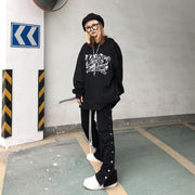 Donsmoke Embroided Vine Logo Hoodie - OH 2X Asia's Trending Streetwear OH2X