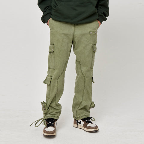 Kreate Faded Cargo Work Pants - OH 2X