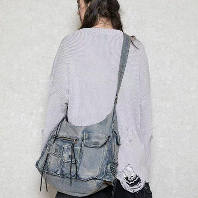 Donsmoke Hand Dyed Denim Bag