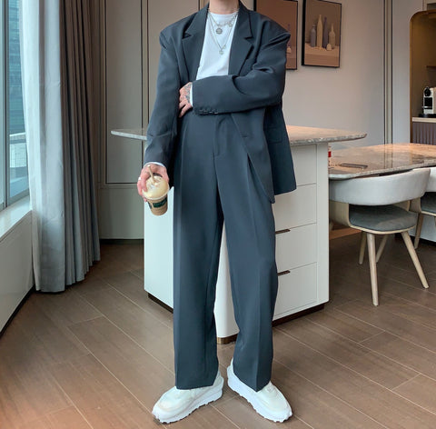 OH Essential Boxy Suit - OH 2X Asia's Trending Streetwear OH2X