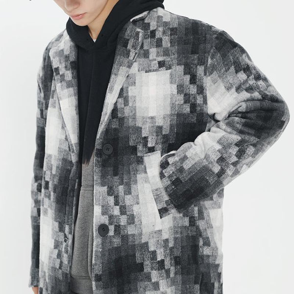 Fictitious 426 Mosaic Textiles Overcoat