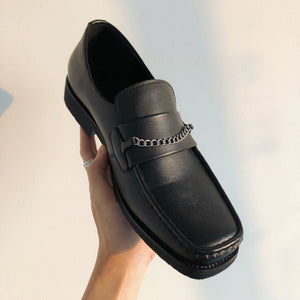 OH Chain Style Loafers