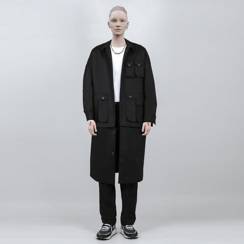":Perdu"" Cargo Pocket Trenchcoat - OH 2X Asia's Trending Streetwear OH2X"