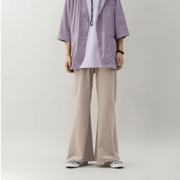 Crying Center Bell Bottom Pants - OH2x