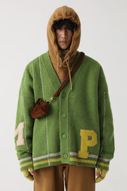 M. Prince Letter Cardigan - OH 2X Asia's Trending Streetwear OH2X