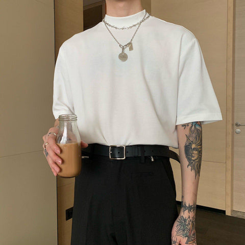OH Essential Long Collar Tee - OH 2X Asia's Trending Streetwear OH2X