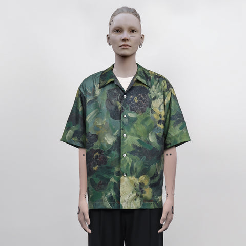 ":Perdu"" Nature Paint Print Shirt - OH2x"