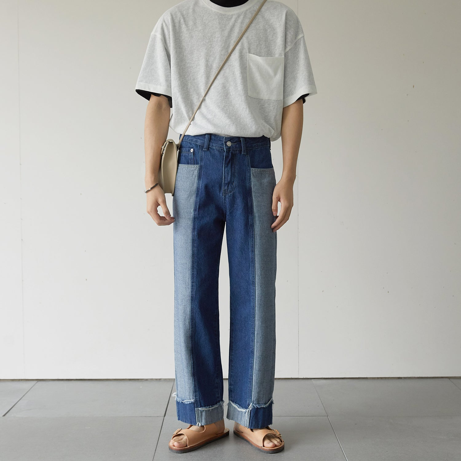 OH Two Tone Jeans - OH 2x