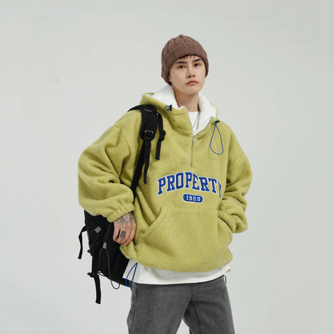 OH Sherpa Fleece Track Hoodie - OH 2X Asia's Trending Streetwear OH2X