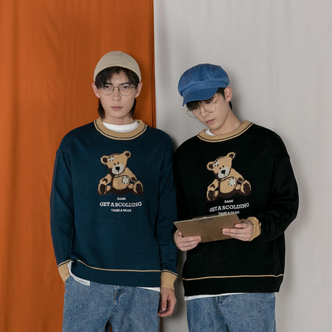 OH Scolding Teddy Sweater - OH 2X Asia's Trending Streetwear OH2X