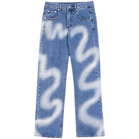 OH Graffiti Line Jeans - OH 2X Asia's Trending Streetwear OH2X