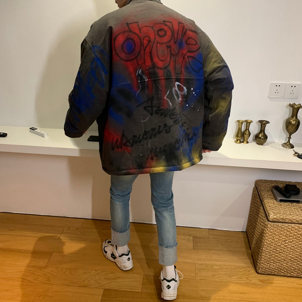 OH Graffiti Military Jacket
