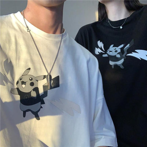 OH Reflective Thunderbolt Tee - OH 2X Asia's Trending Streetwear OH2X