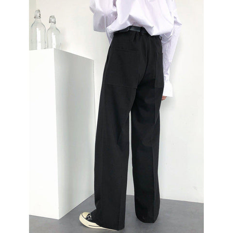 OH Essential Bootcut Trousers - OH Garments Asian Trending Streetwear