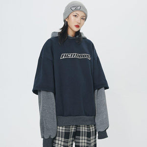 Fictitious 426 Stacked Layer Logo Hoodie