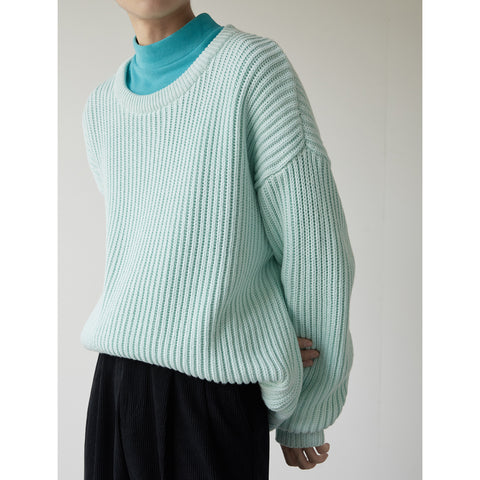 OH Essential Heavy Ribbed Sweater - OH 2X Asia's Trending Streetwear OH2X
