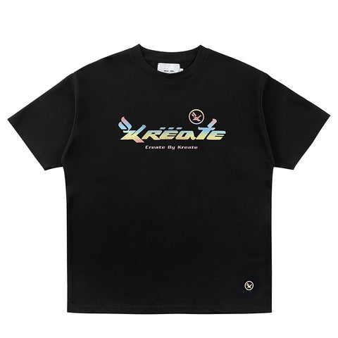 Kreate Reflective Logo Tee - OH 2X Asia's Trending Streetwear OH2X