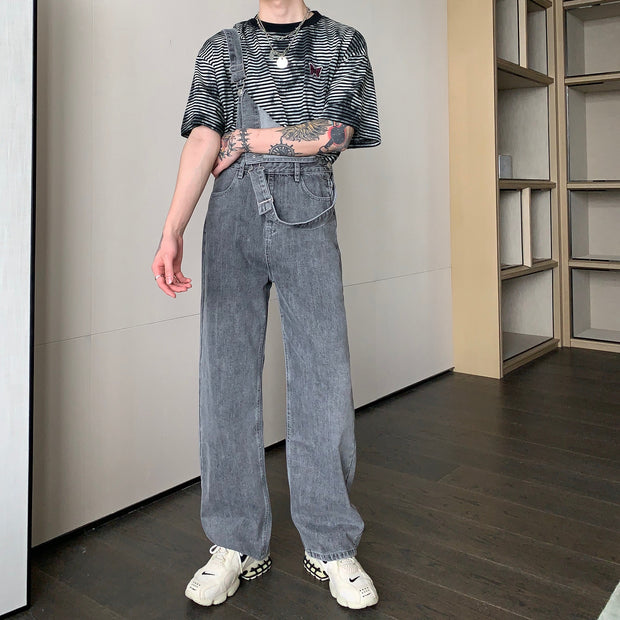 OH Essential Stone Wash Overalls