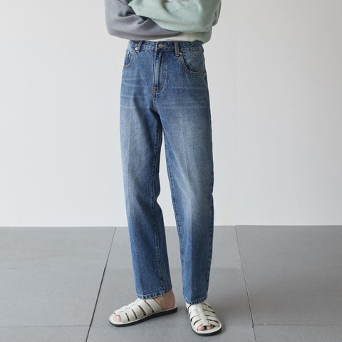 OH Essential Straight Light Washed Jeans - OH 2X Asia's Trending Streetwear OH2X