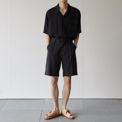OH Essential Contrast Stitch Shorts & Trousers - OH 2x