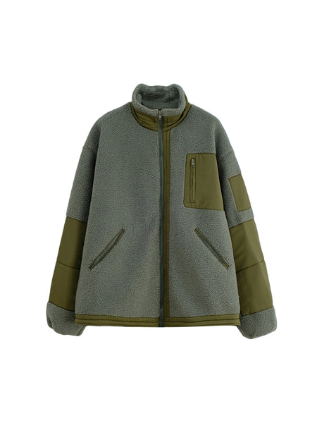 Fictitious 426 Cargo Teddy Jacket