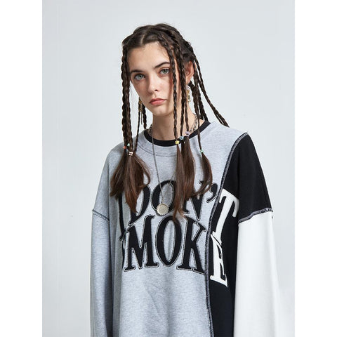 Donsmoke Reconstructed Logo Sweater - OH 2X Asia's Trending Streetwear OH2X