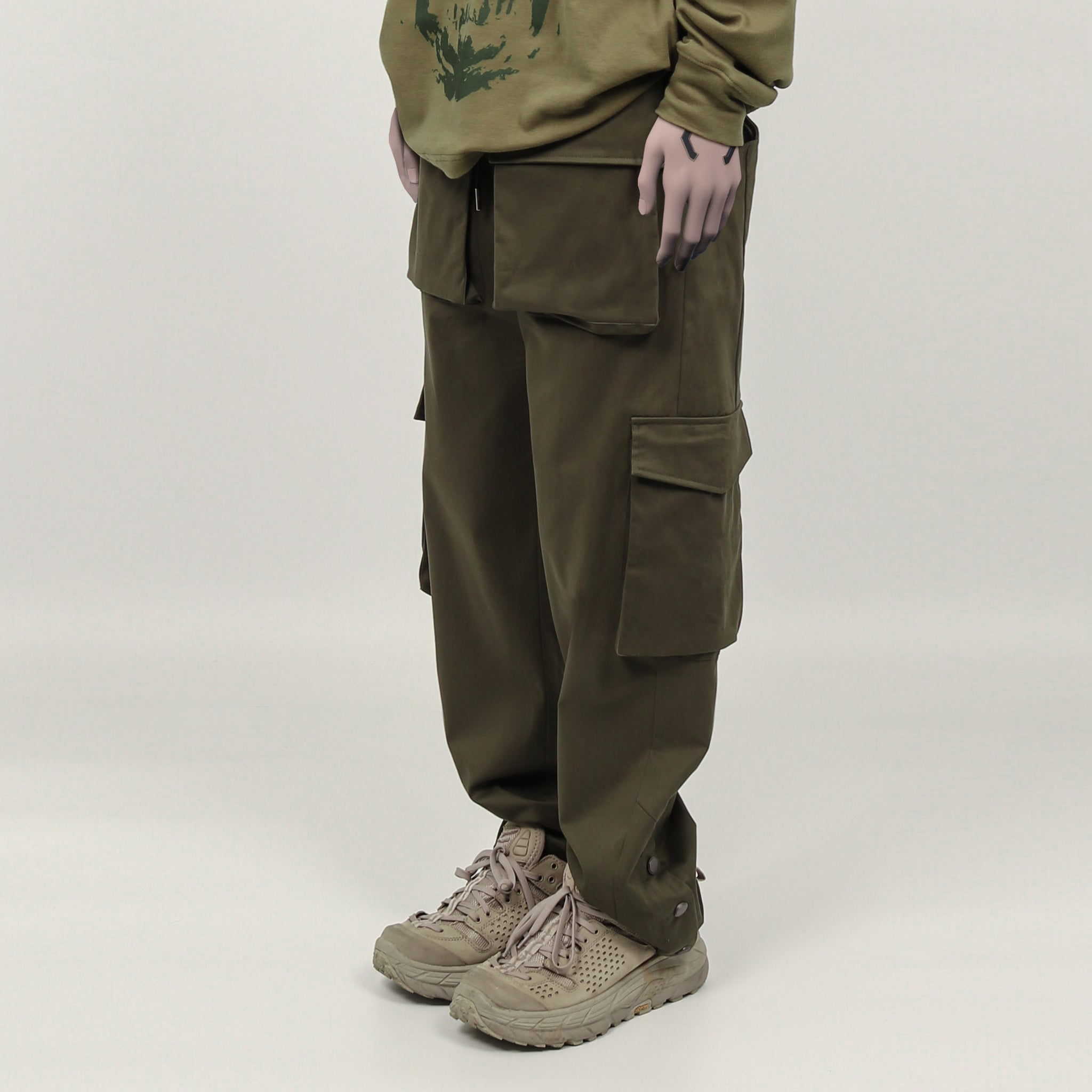 ";Perdu"" Envelope Cargo Pants"