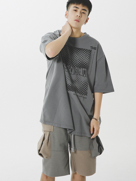 Fictitious 426 Reconstructed Rags Cargo Shorts