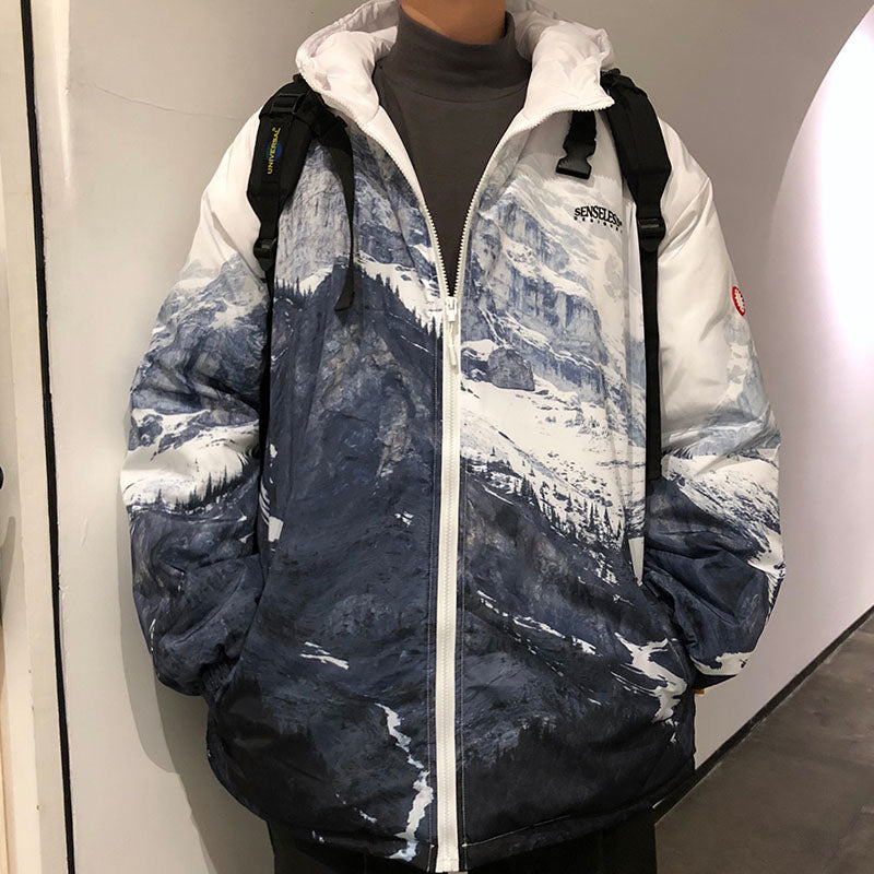 OH Glacial Mountain Windbreaker