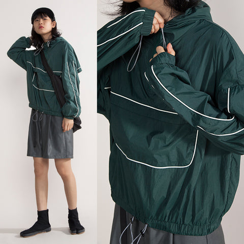 Crying Center Track Windbreaker - OH2x