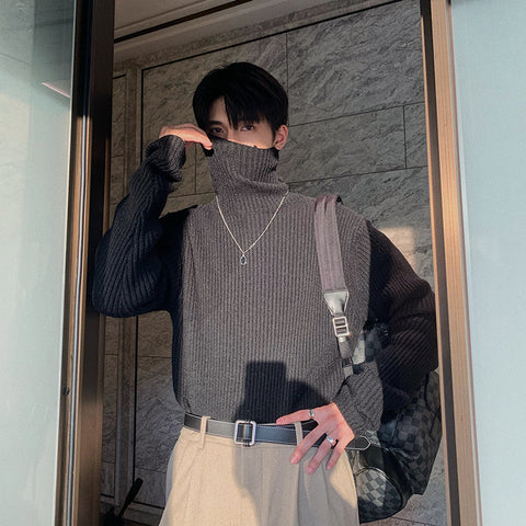 OH Essential Ribbed Turtleneck - OH 2X Asia's Trending Streetwear OH2X