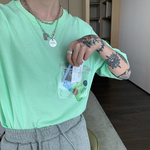 OH Money Pouch Tee - OH 2X