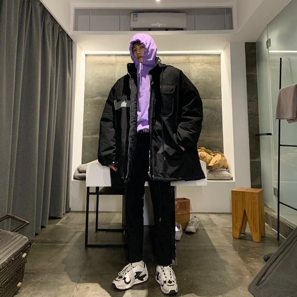 OH Reflective Oversized Windbreaker