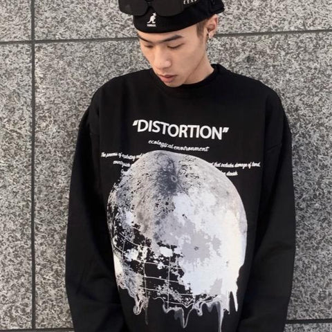 PVCinc Distortion Crewneck