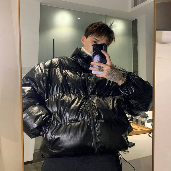 OH Essential Shiny Puffer Jacket
