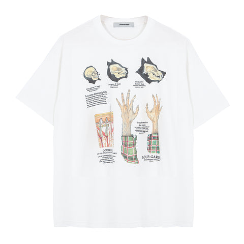 ":Perdu"" Dissection Tee"
