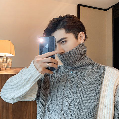OH Reconstructed Colors Turtleneck - OH 2X Asia's Trending Streetwear OH2X