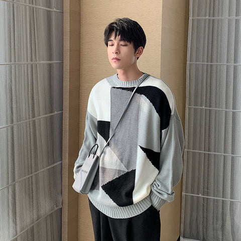 OH Geometry Sweater - OH 2X Asia's Trending Streetwear OH2X