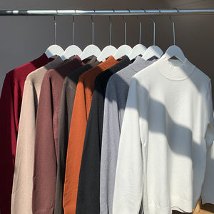 OH Essential Mockneck Sweater