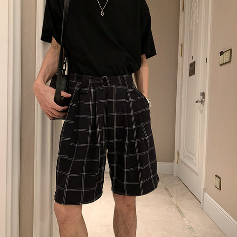OH Essential Plaid Shorts