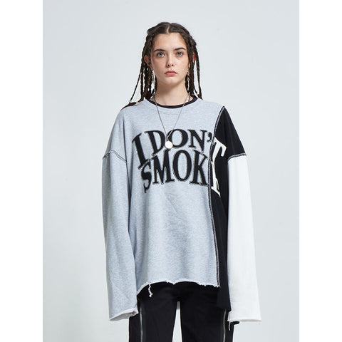 Donsmoke Reconstructed Logo Sweater