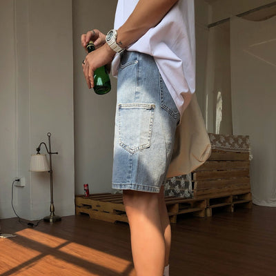 OH Essential Side Pocket Denim Shorts - OH 2x