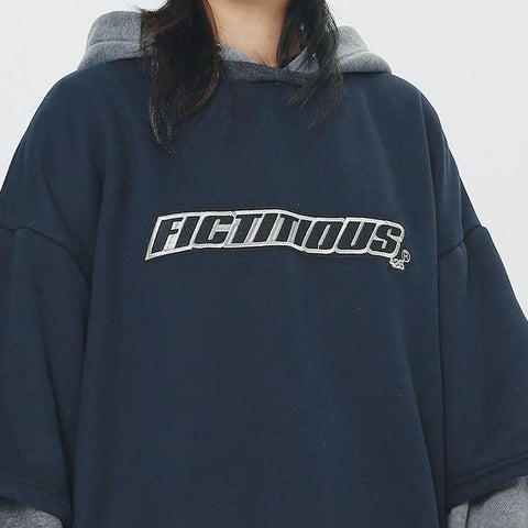 Fictitious 426 Stacked Layer Logo Hoodie - OH 2X