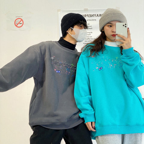 OH Microscopic Paint Crewneck - OH 2X Asia's Trending Streetwear OH2X