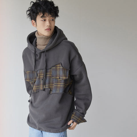 OH Reconstructed Patch Hoodie - OH 2X Asia's Trending Streetwear OH2X