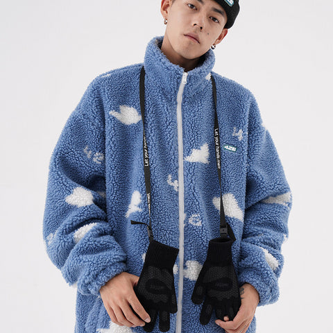 Fictitious 426 Cloud Fleece Jacket - OH 2X Asia's Trending Streetwear OH2X