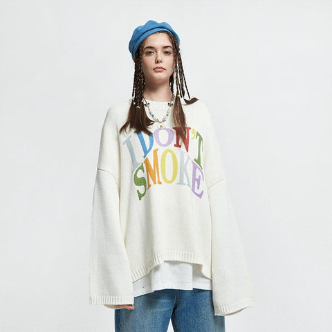 Donsmoke Multi-Color Logo Sweater - OH 2X